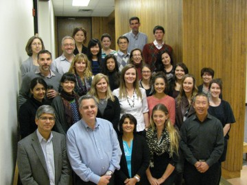 The Mood Disorders Centre Team, October 2, 2013