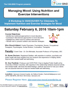 Health, Fitness, Mood for Clinicians Feb. 6, 2016
